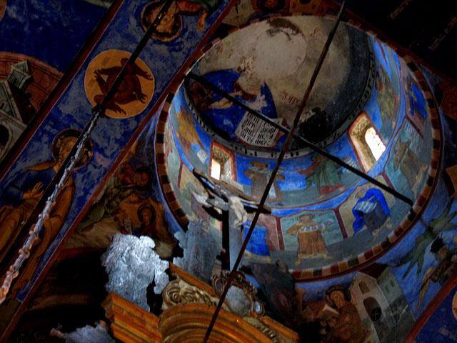 Росписи в церкви Николы Найденныя. Ярославль
