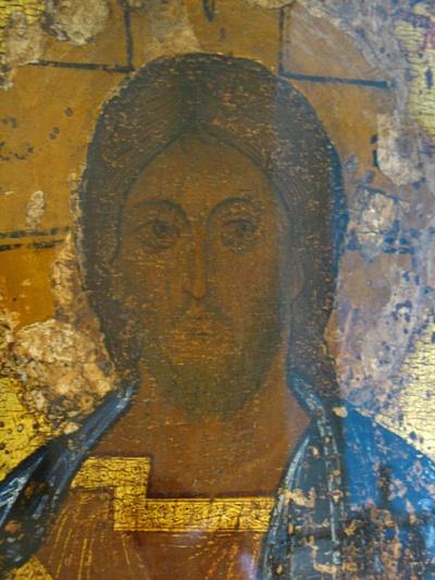 Спас. Самая древняя икона в музее. Насколько помню, 13 века.