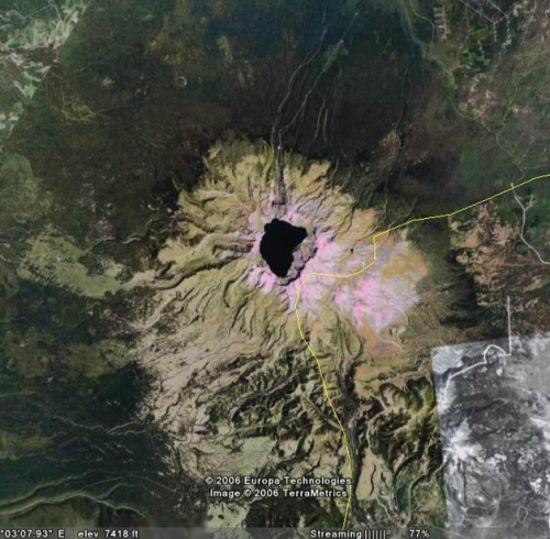 Вулкан Пектусан
