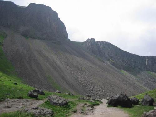 вулканические склоны