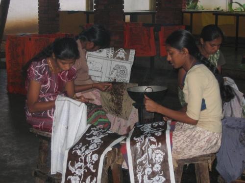 Фабрика батика.