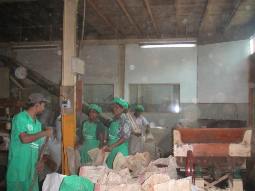 Чайная фабрика.