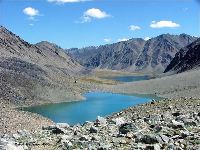 Озера. Выхынч. 4500 м