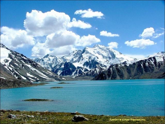 Озеро Зарошкуль. 4500 м