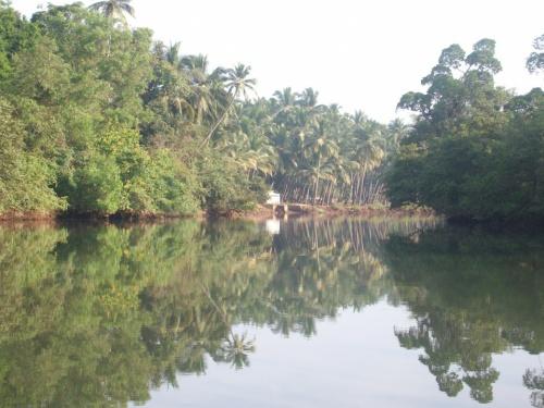 река в Агонде