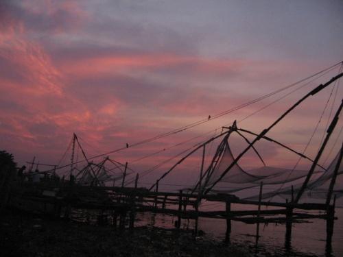 закат в Кочине