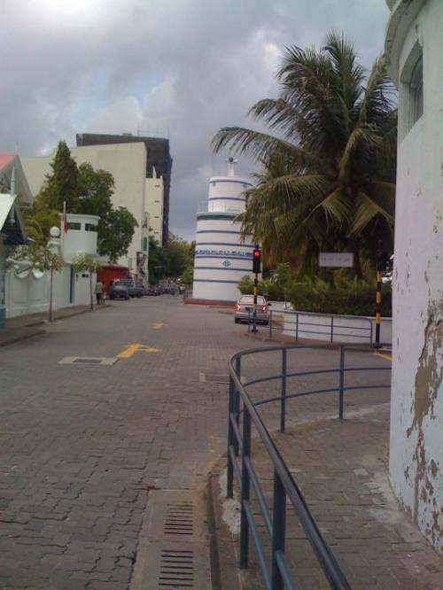вид на странню мечеть