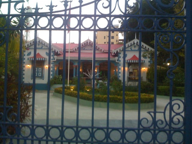 секретная резиденция Султана