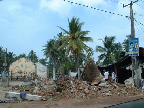Шри-Ланка. После цунами.