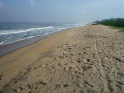 Это южная часть острова, ближе к Форт Кочину. Таким был весь Черай неск лет назад!