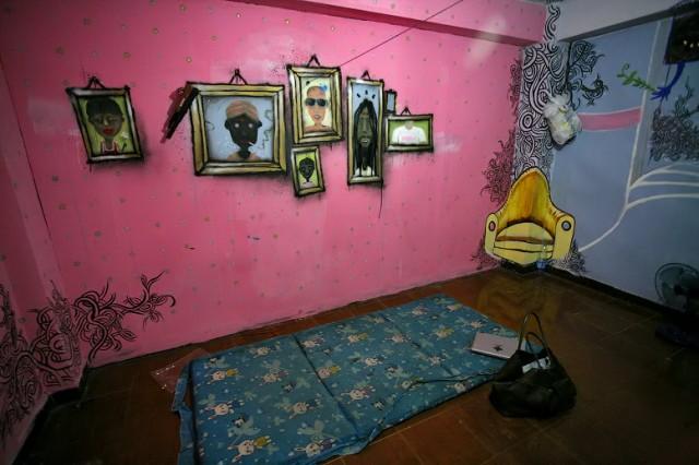Одна из комнат за 100 бат
