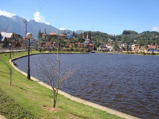 озеро в центре города