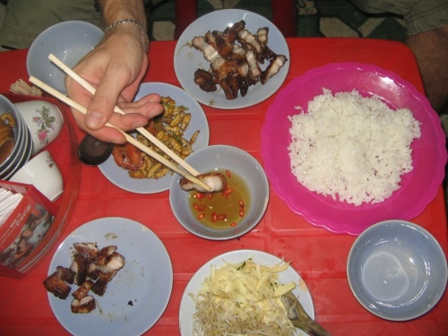 Ханойская уличная еда
