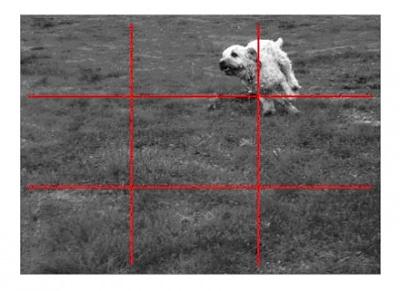 Простейший вариант — расположить ваш объект возле одного из четырёх пересечений. Как здесь: