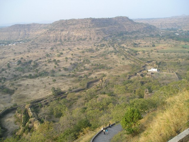 Стена Аурангабад форта