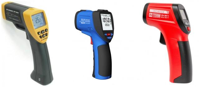Пирометр. Инфракрасный бесконтактный термометр
