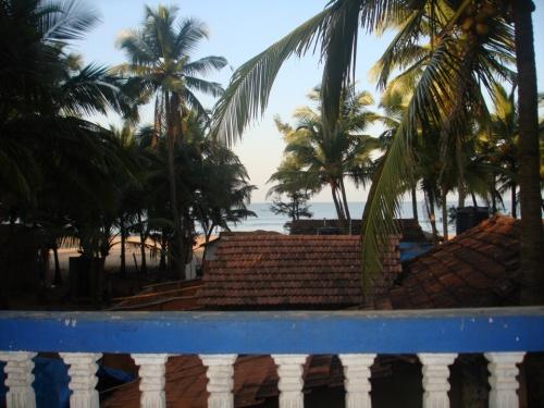 Агонда. вид с балкона