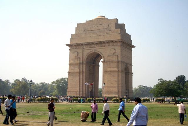 Ворота Индии - памятник индийским солдатам, погибшим во время Первой Мировой войны