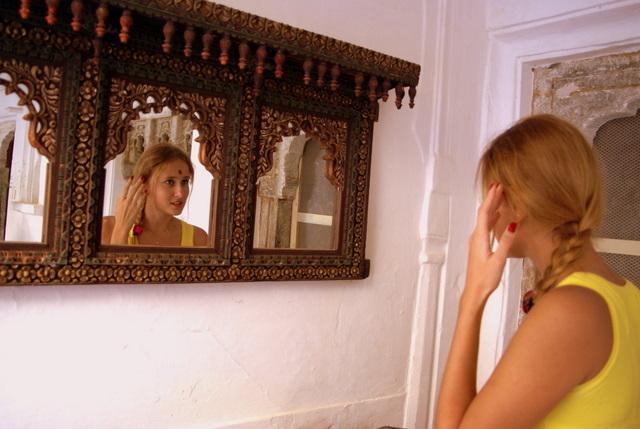 Давным-давно в зеркала смотрелись принцессы