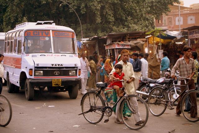 На улице Джайпура