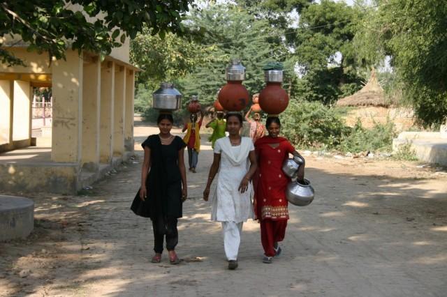 Местные жители на Говинда-кунде