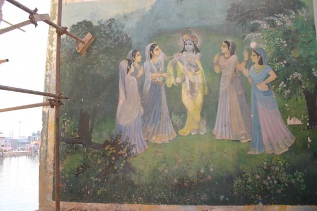 Кришна во Врадже не Бог, а возлюбленный, ибо настроение сладости (Мадхурья), а не почитания (Айшварья) тут