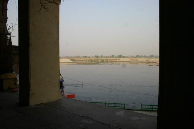 Вриндаван. Река Ямуна, где играли Кришна и гопи.
