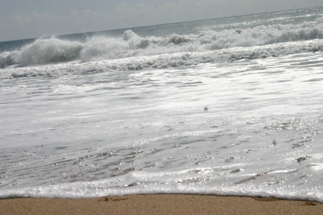 Берег Индийского океана. Пури