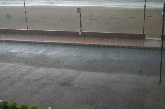 Дождь в Пури