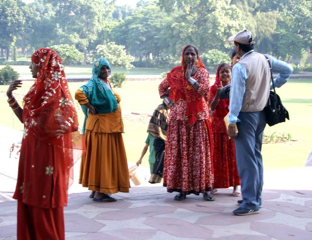 Индийцы, похожие на цыган