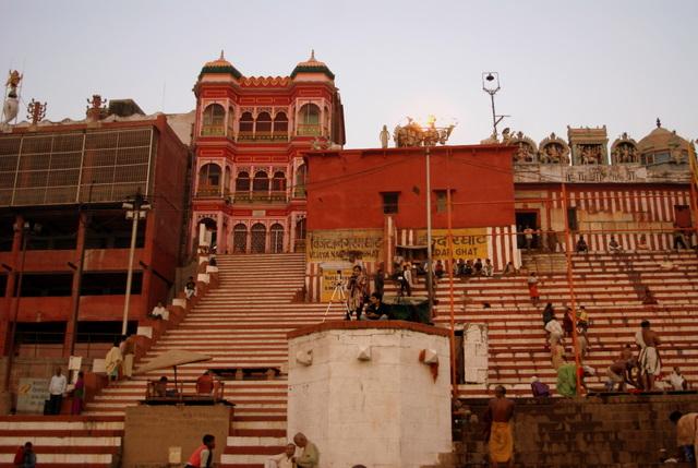Каменные лестницы - места для зрителей