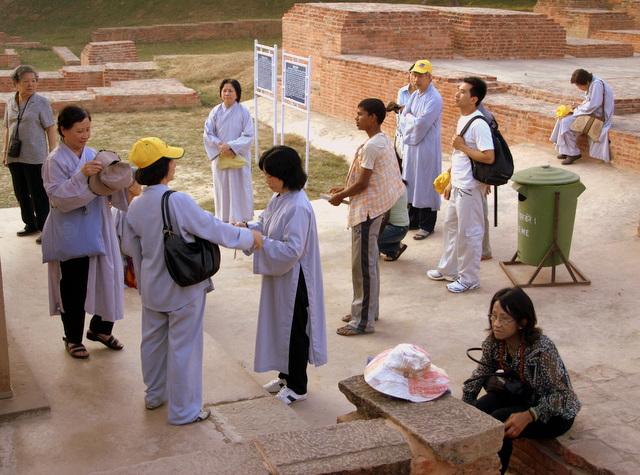 Среди последователей буддизма много японцев