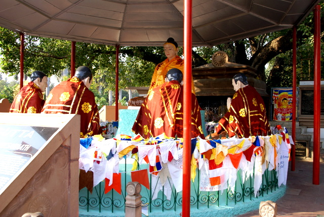 Будда и ученики под раскидистым баньяном