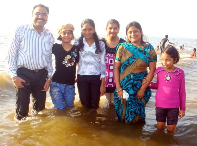 Индийский океан в прибрежной зоне Мумбаи