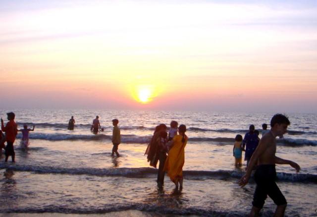 Солнце в Индийском океане