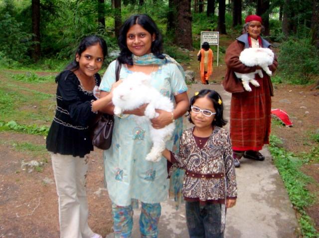 В штате Химчал Прадеш, в городе  Манали расположен природный парк