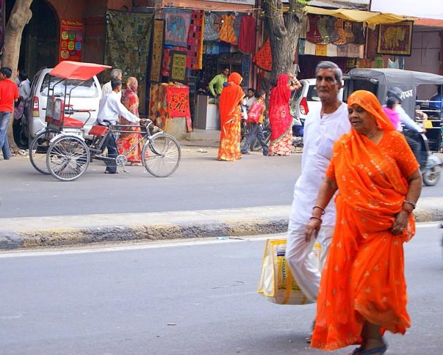 Как красиво красный и оранжевый!