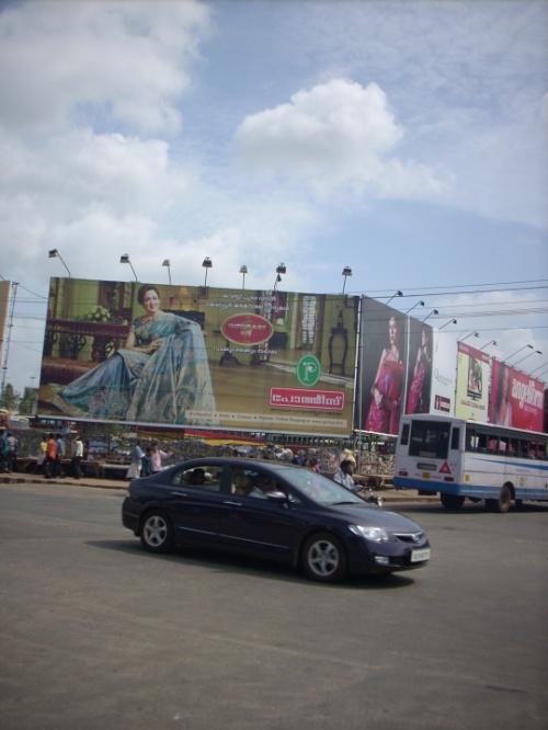 Хема Малини в рекламе сари