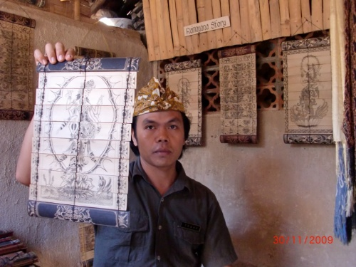 Житель бали-ага с хендмейд