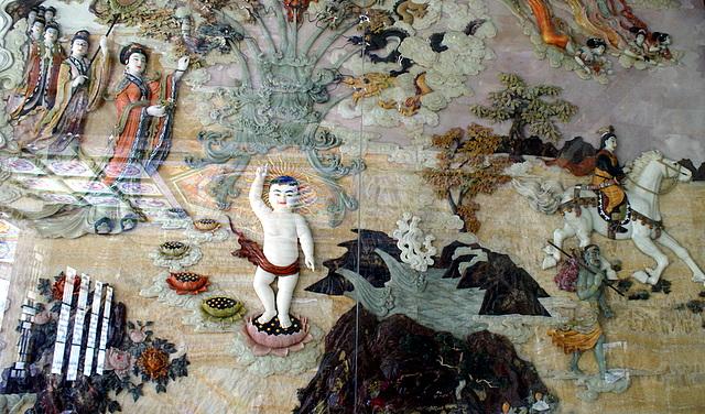 Живописный рассказ о жизни Будды – рождение
