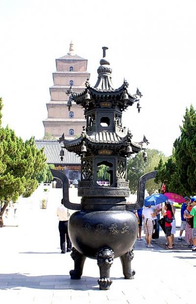 Пагода и жертвенник похожи строгостью и гармонией пропорций