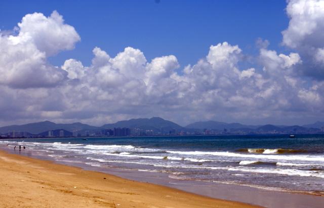 На берегу Южно-Китайского моря