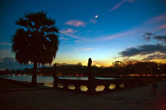 Центральный вход а Ангкор