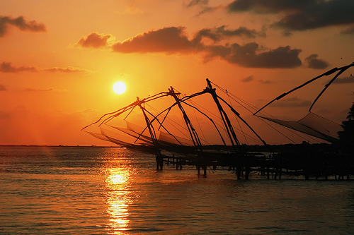 Chinese Fishing Nets - Tourist foto