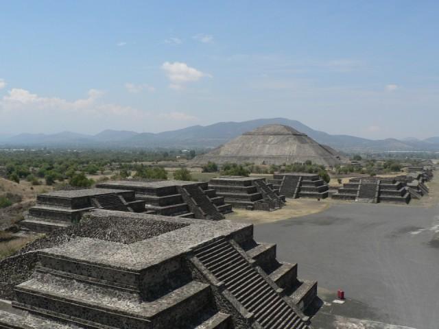 Вид на храм Солнца