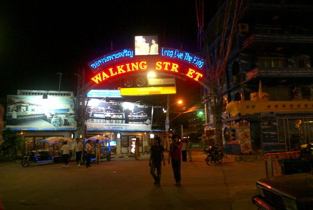 Знаменитая улица Паттайи
