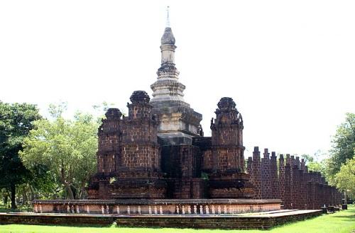 Тайский пранг – влияние кхмерской архитектуры