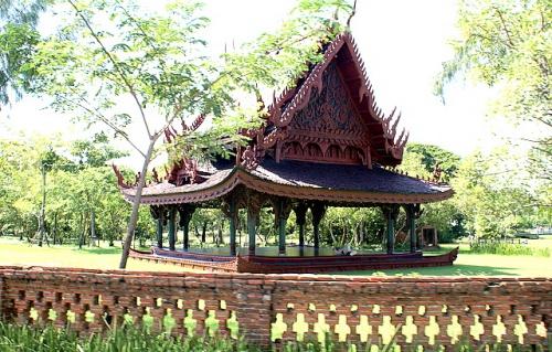 Сала – постройка, в которой монахи и пилигримы укрывались от жары