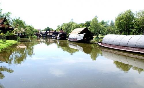Плавучая деревня