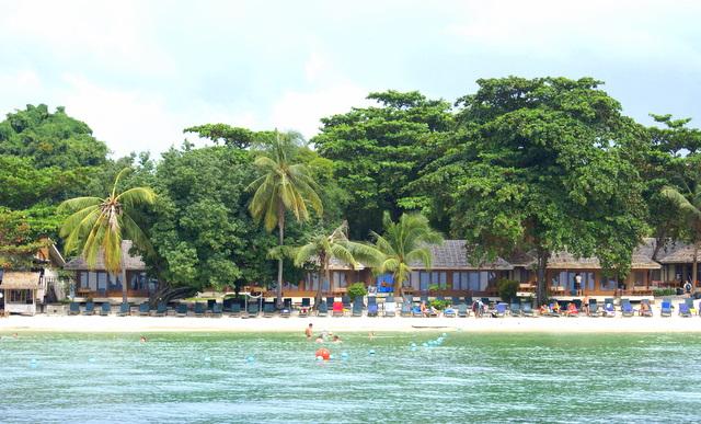 На острове сплошные  бунгало и никаких отелей